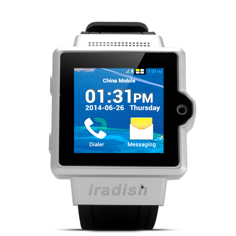 iradish i6 Android Watch Phone (Silver)