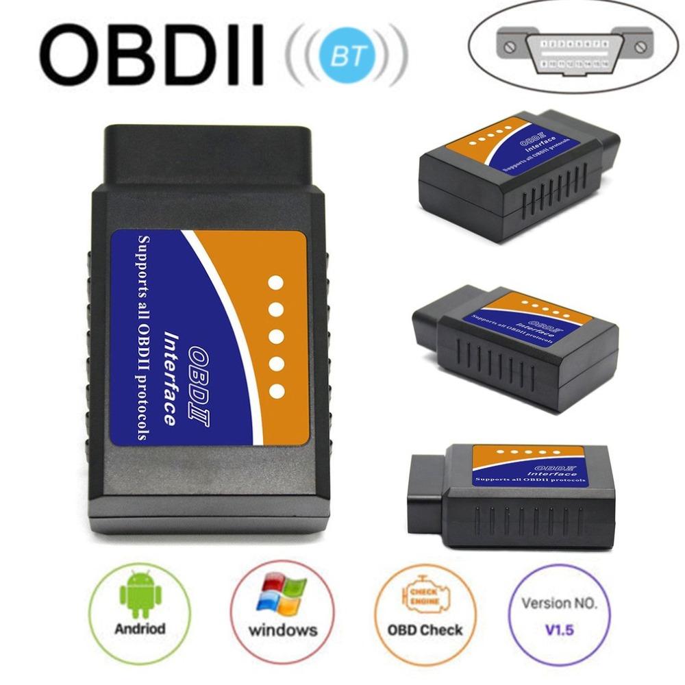 V03H2-1 Vehicle Car Auto Fault Diagnosis Scanner Tool OBDII Bluetooth Diagnostic Interface V1.5 Code Readers V03H2-1