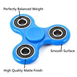 Triangular Fidget Hand Spinner Fingers Toy with 608rs Bearing Durable Non-3D printed