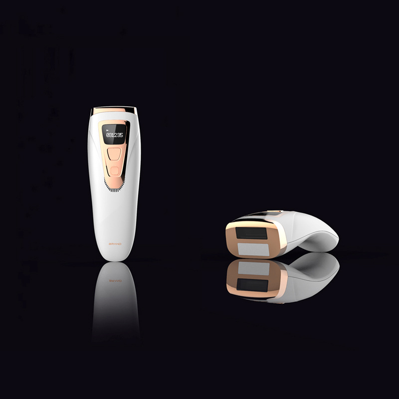 Hair Removal Instrument Freezing Depilator Household Photon Hair Removal Machines Painless Lady Body Golden