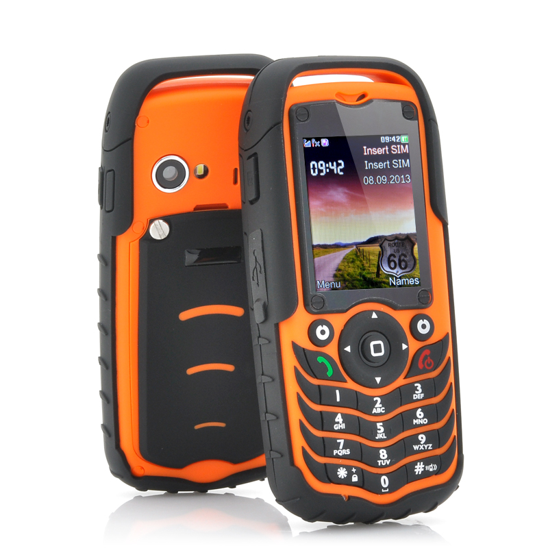 Rugged Design Mobile Phone - Fortis (O)