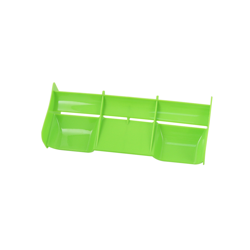 1/8 RC Buggy car plastic nylon Tail Wing for 1/8 Nitro Electric Powered Off Road Buggy Truck green