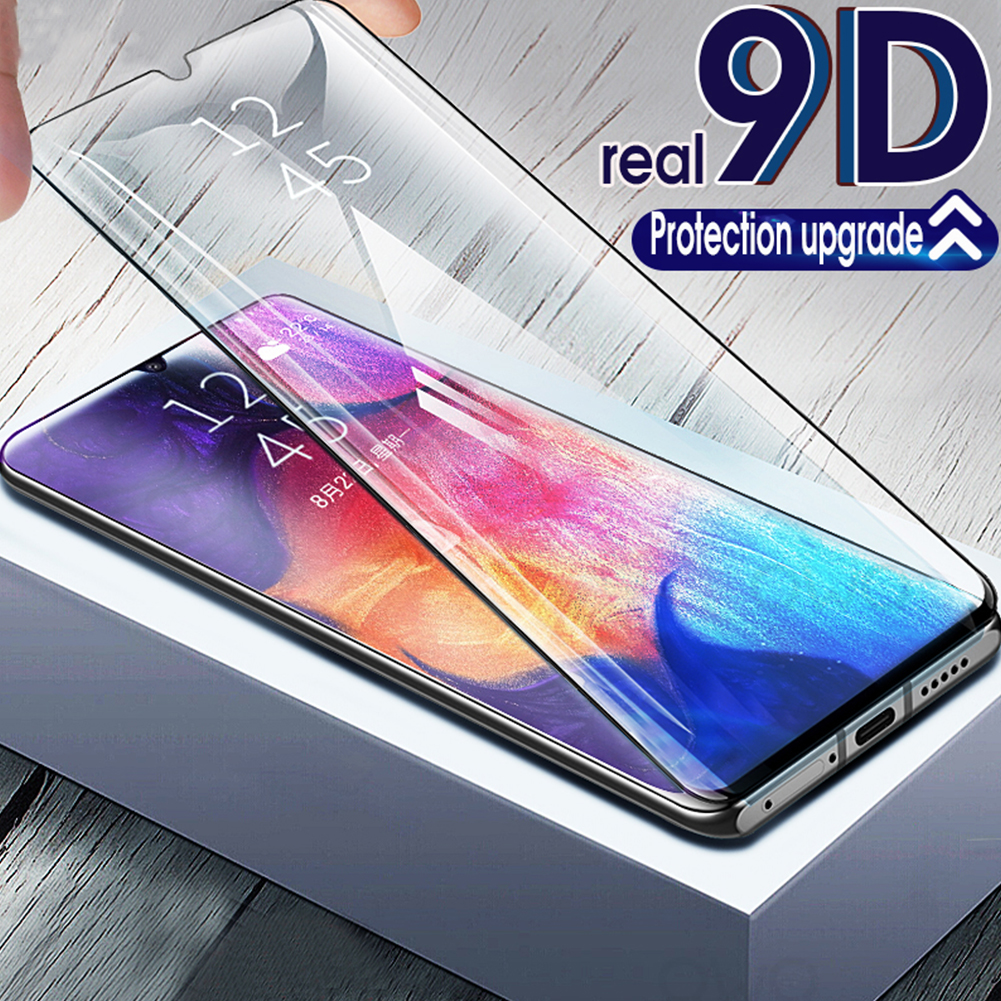 9D Curved Protective Film Glass Film Tempered Glass for Galaxy A10 A20 A20E A30 M10 M20 M30