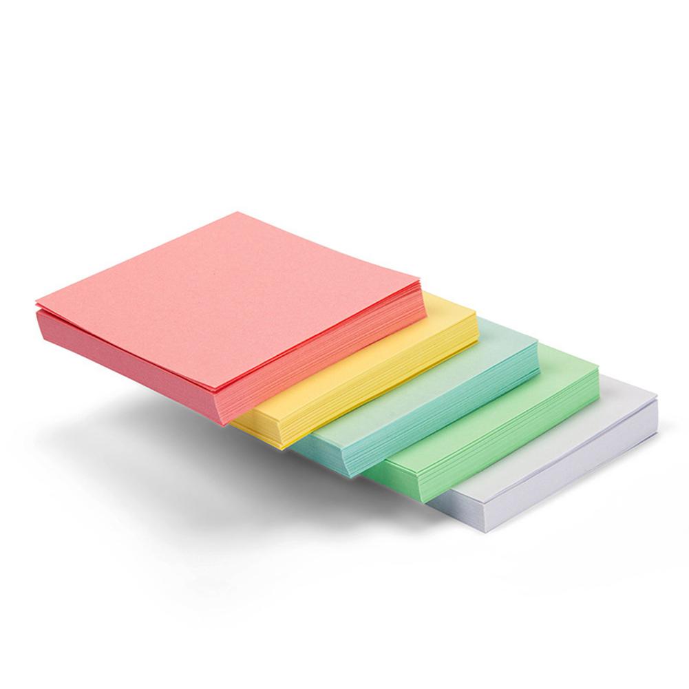 400 Sheets Multicolor Square Non-stick Note Paper