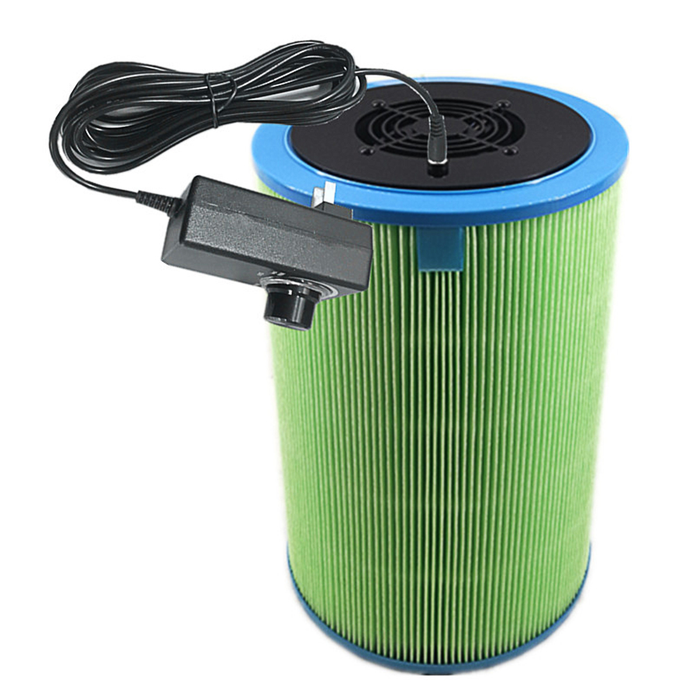 110-220V Diy Air Purifier Hepa Filter Dust Collector for Particle Electrostatic Dust Adsorption Particle version