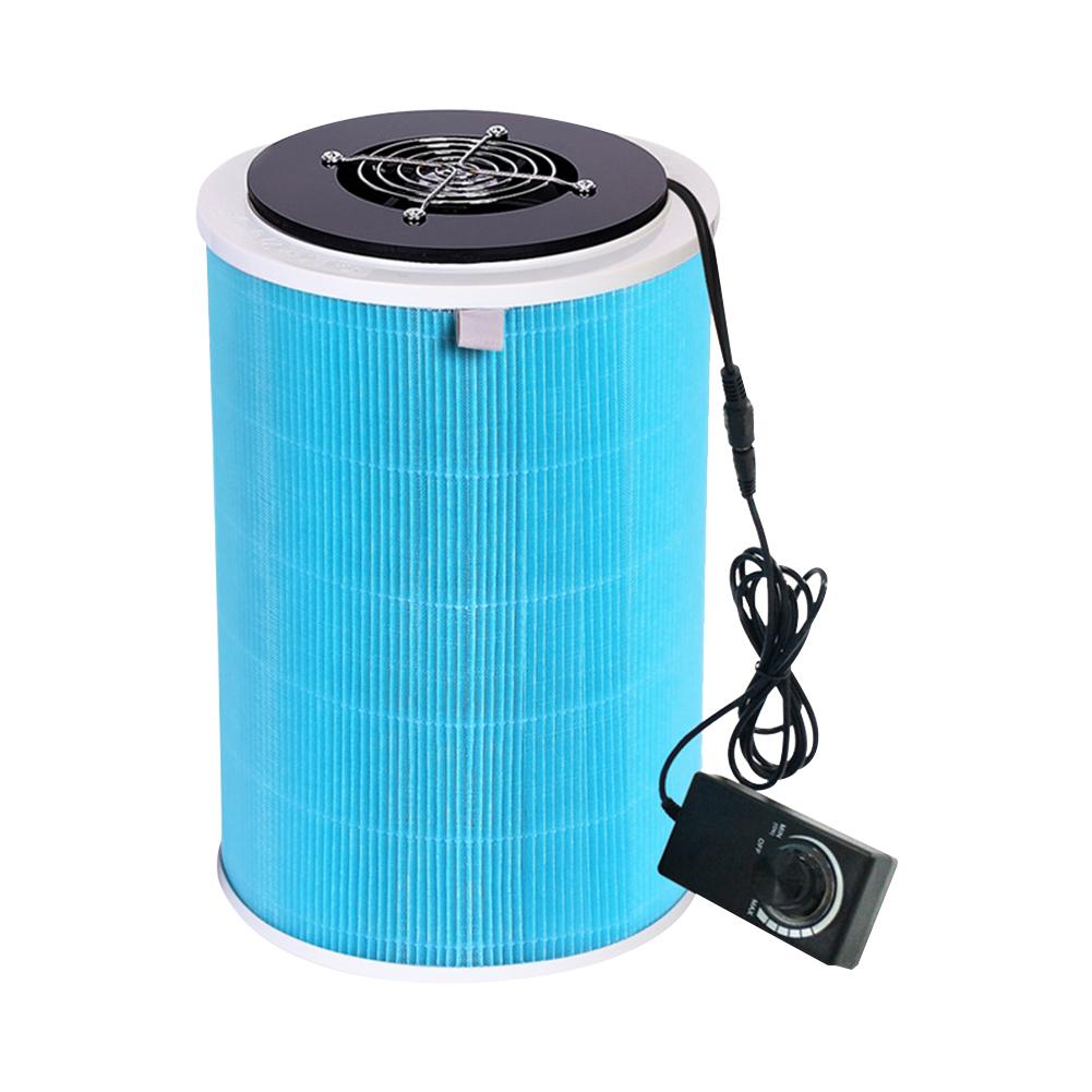 110-220V DIY Air Purifier Hepa Filter for Dehaze Deodorize Second-hand Smoke Economic version