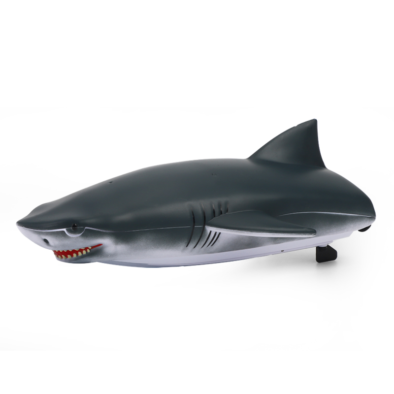 2.4g Remote  Control  Boat 2-in-1 Remote Control Boat High-speed Speedboat Simulation Boat Gray blue