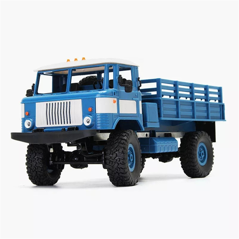 WPL B-24 1/16 RTR KIT 4WD RC Truck 2.4GHZ blue_Frame KIT (excluding electronic components)