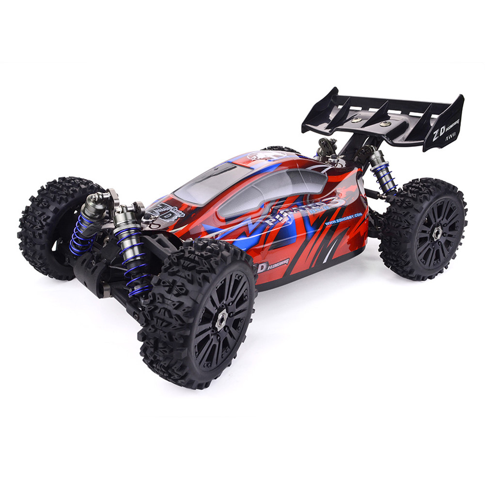 ZD Racing Pirates3 BX-8E 1:8 Scale 4WD Brushless electric Buggy red_Frame (excluding electronic accessories)