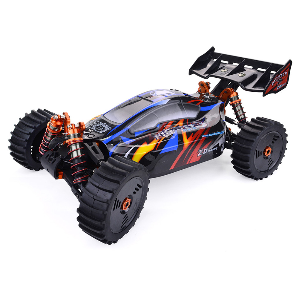 ZD Racing Pirates3 BX-8E 1:8 Scale 4WD Brushless electric Buggy Orange black_Frame (excluding electronic accessories)