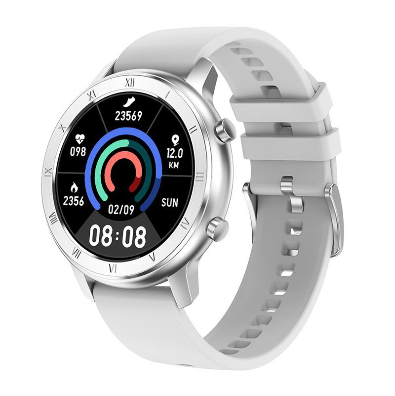 Dt89 Color Screen Smart Watch Information Push Female Cycle Reminder Bluetooth Sports Bracelet Gray