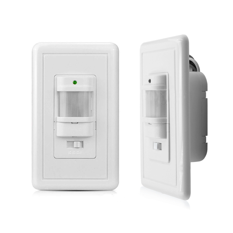 Infrared Sensor Switch Human Body Motion Inductive Light Switch American Standard Panel Motion Wall Installation