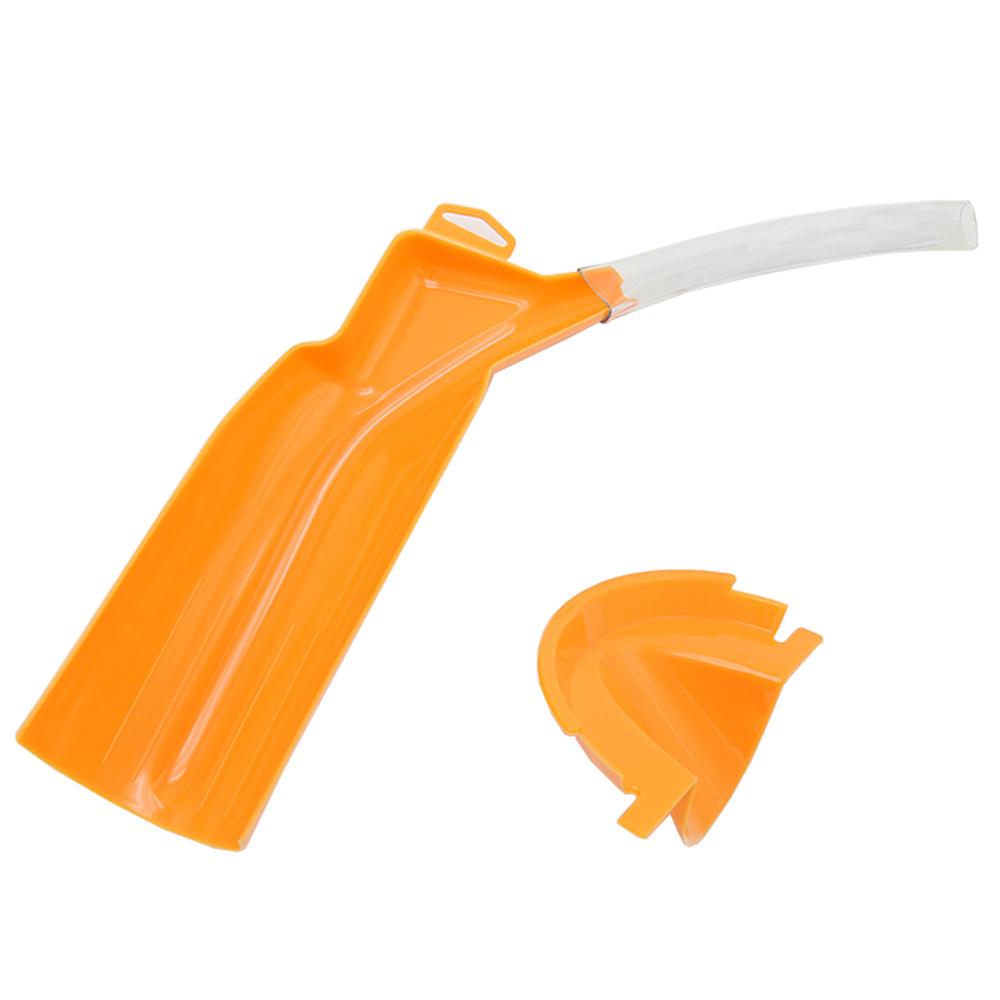 Motorcycle Gear Funnel Waste Oil Funnel Orange