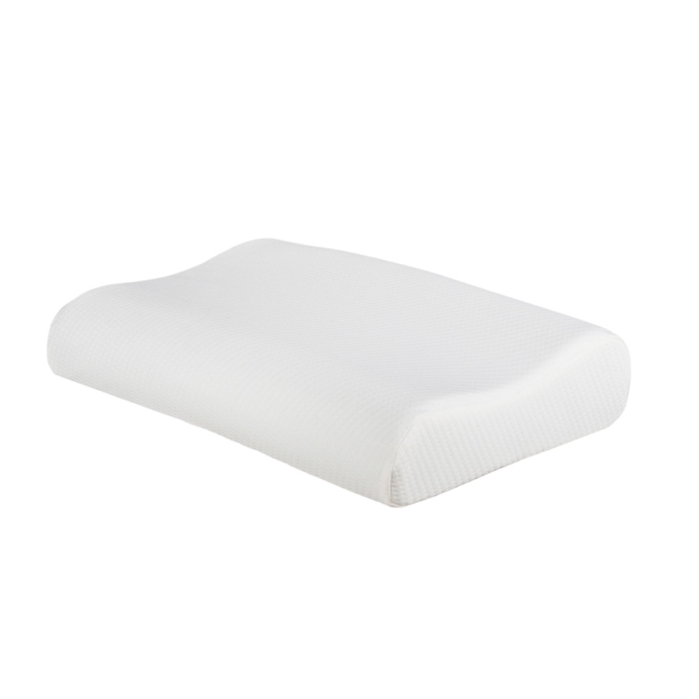 [US Direct] Contour  Pillow Memory Foam Pillow 19.7x11.8x3/4