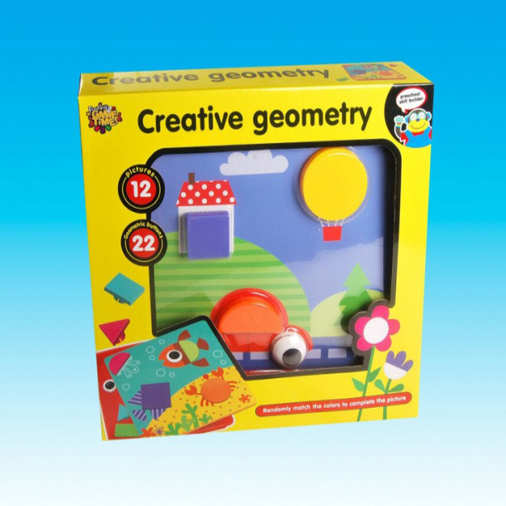 3D Cartoon Mushroom Nail Kit Puzzle Toy for Kids Baby Girls