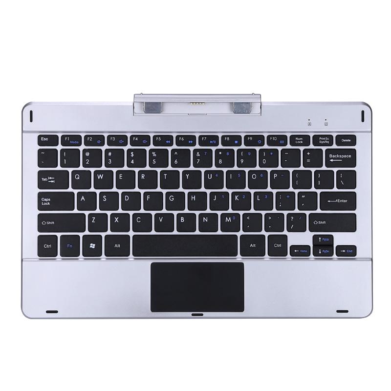 Magnetic Tablet Keyboard External Keyboard for Jumper Ezpad 6 Pro / 6S Pro  Silver