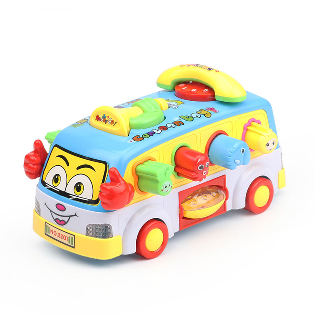 High Simulation Alloy Bus Model Children Bus Toys Metal Model Vehicle Kids Toys Collection  Universal bus
