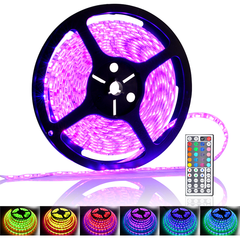 5 Meter 300x RGB Color Changing LED Strip