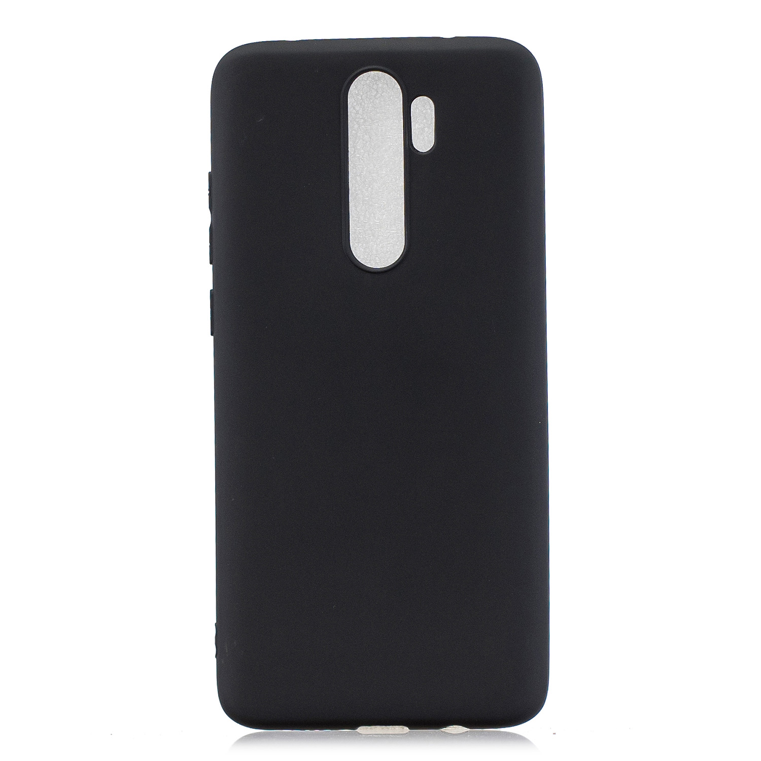 For Redmi NOTE 8 NOTE 8 Pro Soft Candy Color Frosted Surface Shockproof TPU Back Cover Mobile Phone Case black