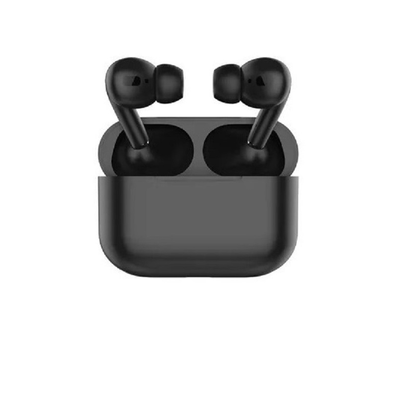 TWS Bluetooth 5.0 Wireless Earphone Macaron Earbuds with Charging Box black