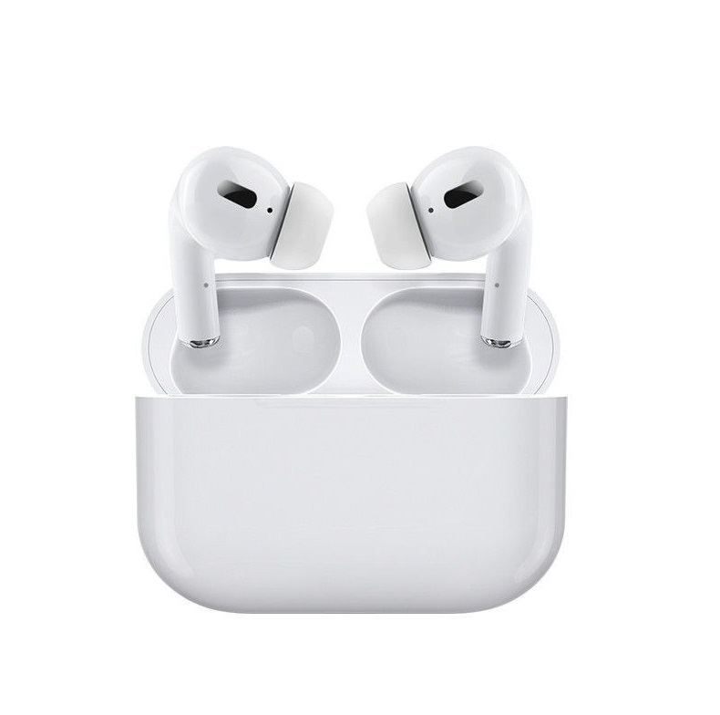 TWS Bluetooth 5.0 Wireless Earphone Macaron Earbuds with Charging Box white