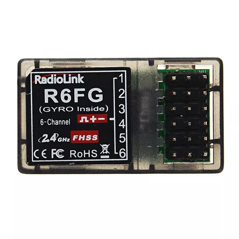 RadioLink R6FG 2.4G 6CH FHSS Receiver Radio Transmitter Gyro Integrant For RC4GS RC3S RC4G T8FB as shown