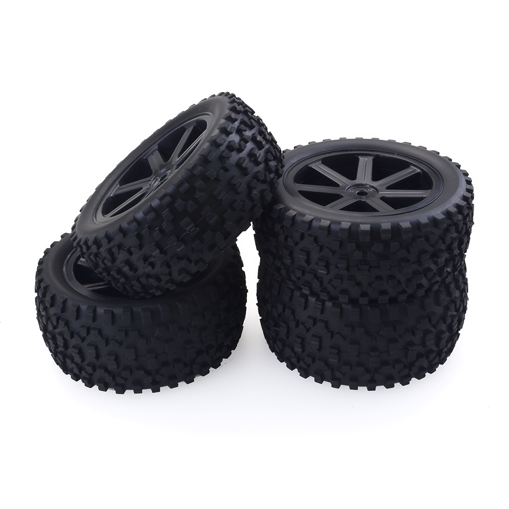 1/10 Buggy Off-road Vehicle Wheel for Redcat, HSP, HPI, Hobbyking, Traxxas, Losi, VRX, LRP, ZD Racing black