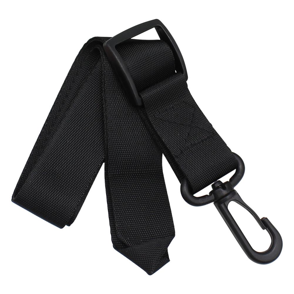 Universal Adjustable Saxophone Clarinet Single Shoulder Neck Strap Oxford Cloth Wind Instrument Parts Accessories black