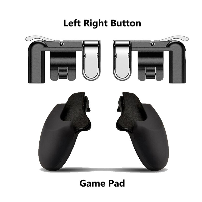 L1R1 Shooter Controller for PUBG Black