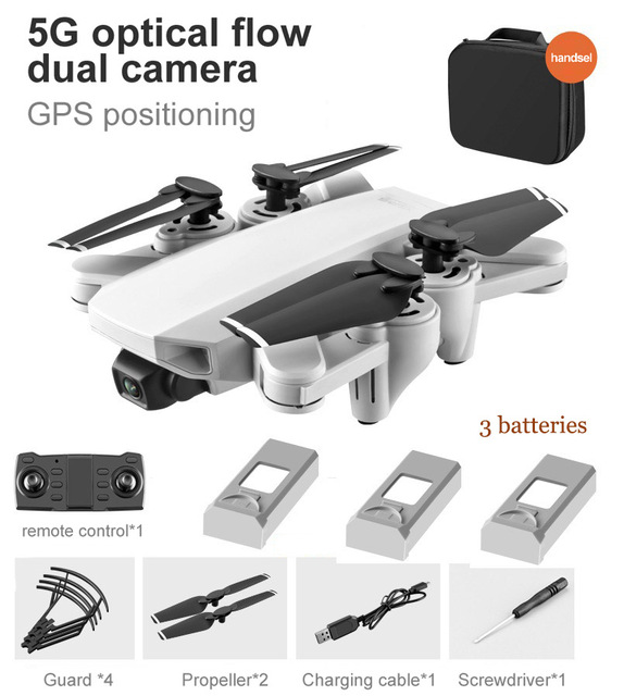 S103 Pro Drone with 4k Camera Rc Quadcopter Drones Hd 4k Gps 5g Wifi Uav Professional Foldable Dron Helicopter Toy Vs Sg907 3 battery