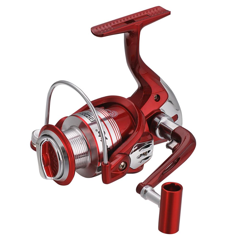 12 Axle Metal Wire Cup Spining Reel Sea Pole Fishing Pole Wheel BD5000 type