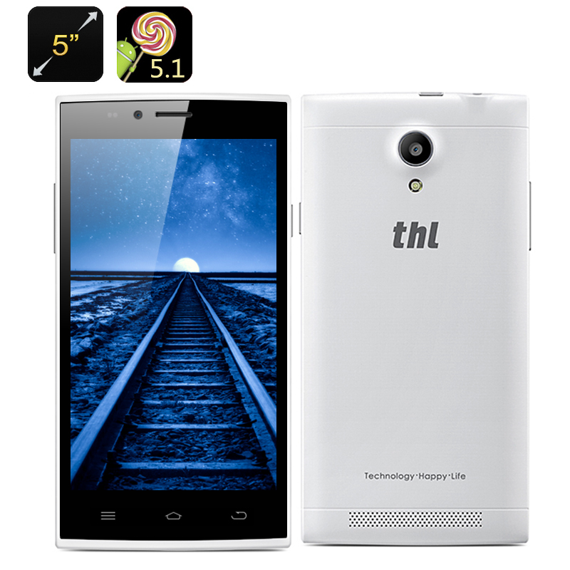 THL T6C Android 5.1 Smartphone (White)