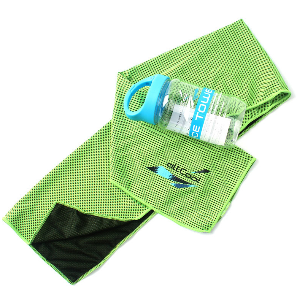 Quick-drying Towels for Travel Sports Fast Drying Super Absorbent Ultra Soft Lightweight Sport Towel Fluorescent green_L