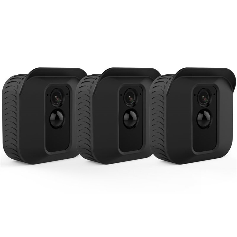 3Pcs Silicone Cover for Blink XT2 black
