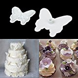 1 X Cake Fondant Decorating Sugarcraft Cookie Plunger Cutters Butterfly Mold