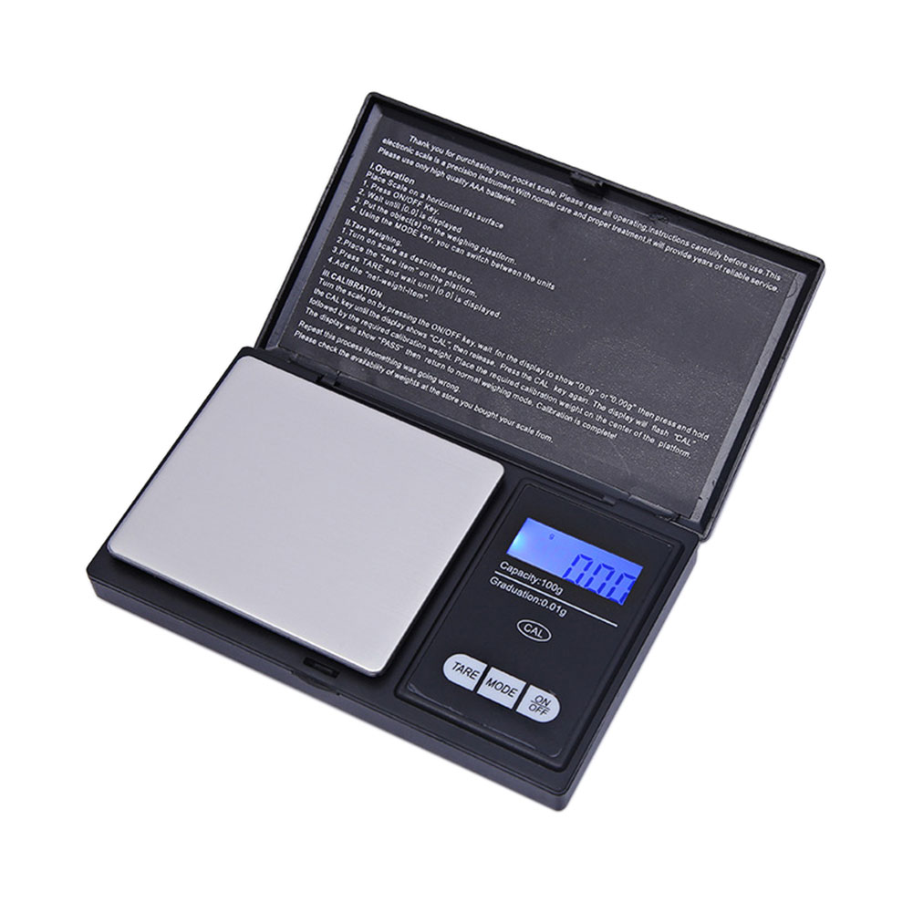 Precision Pocket Scales, Kitchen Scales, Jewelry Scales with LCD Display 100G/0.01G