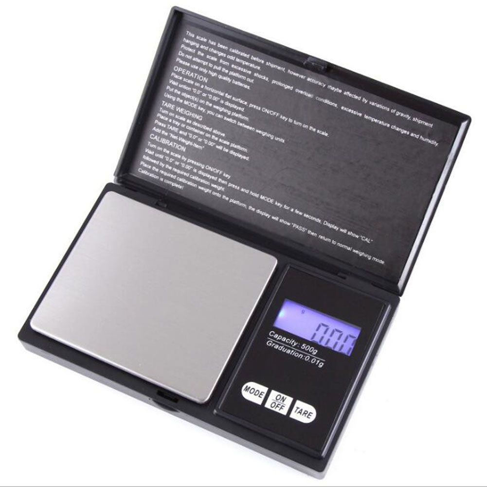Precision Pocket Scales, Kitchen Scales, Jewelry Scales with LCD Display 500G/0.01G