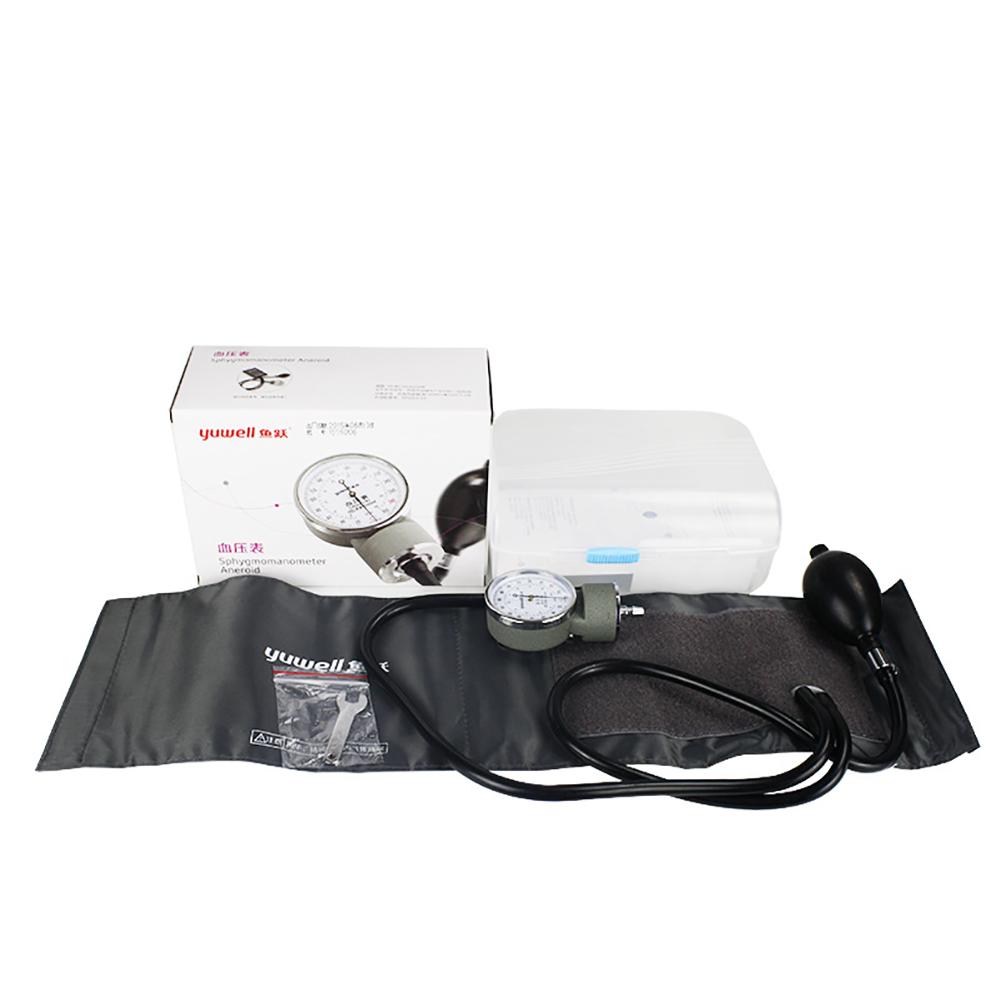 Manual Blood Pressure Monitor for Upper Arm Sphygmomanometer black