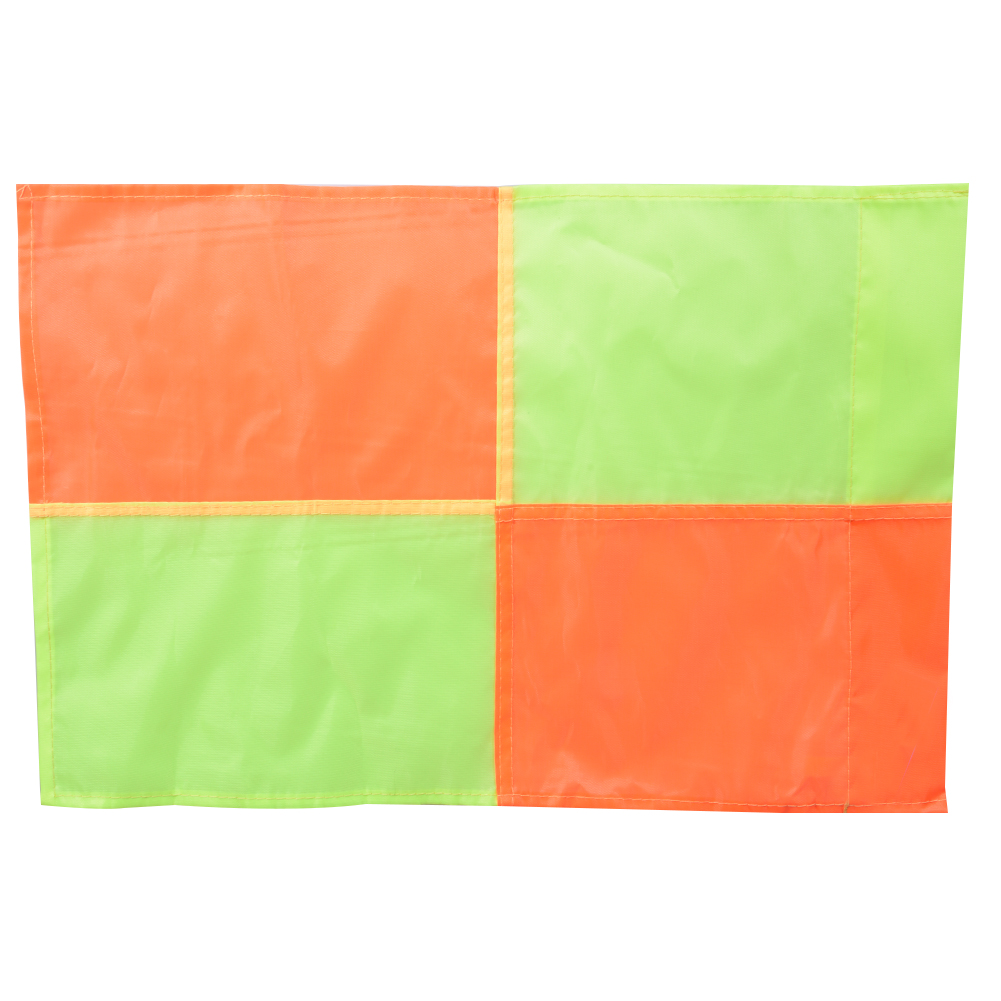 Soccer Referee Flag For Fair Play Sports Match Football Rugby Hockey Training Linesman Flags