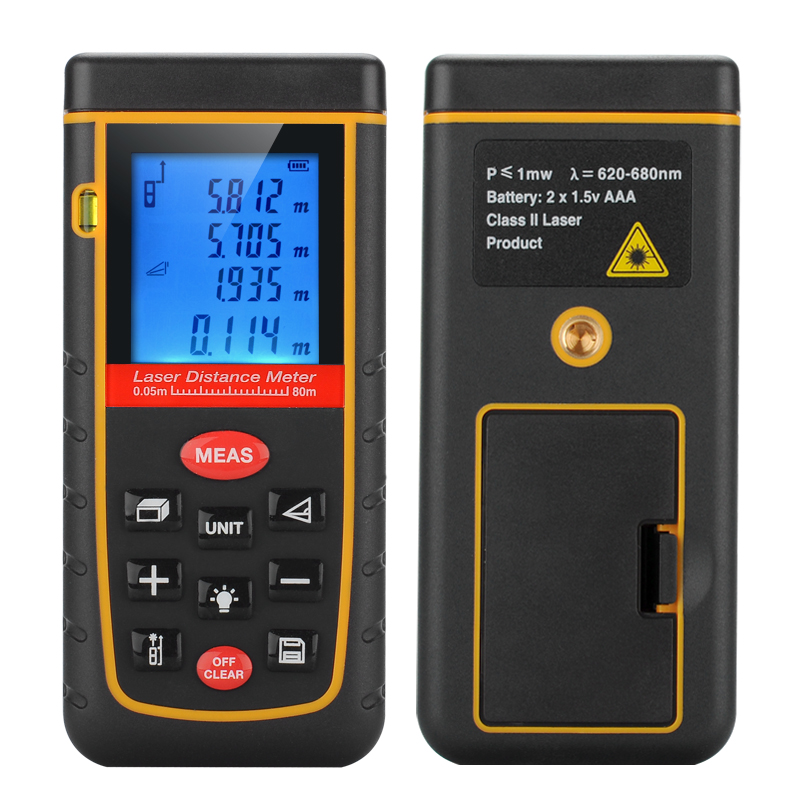 Hand Held IP54 Laser Distance Measurer