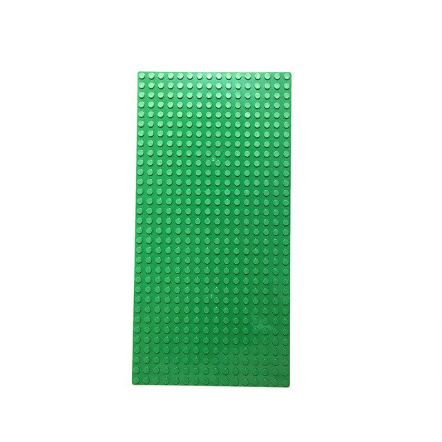 Classic Base Plates Plastic Bricks Baseplates Compatible Major Brands Building Blocks Construction Toys 16*32 Dots
