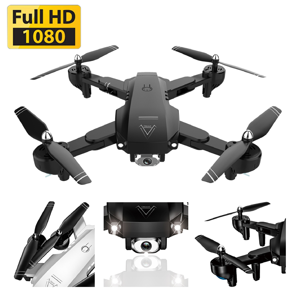 A908 Drone 4K/1080P HD Aerial Professional Drones Wifi FPV Quadcopter Intelligent Follow Flight 20min RC Helicopter Drone Toy Black 4K