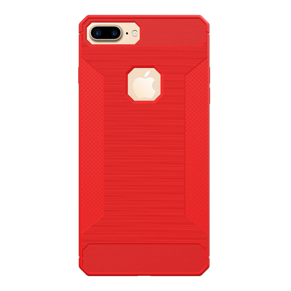 Fashion TPU Cell Phone Back Cover Case Non-slip Shockproof Protective Case for iPhone 7, 8/ 7 Plus, 8 Plus
