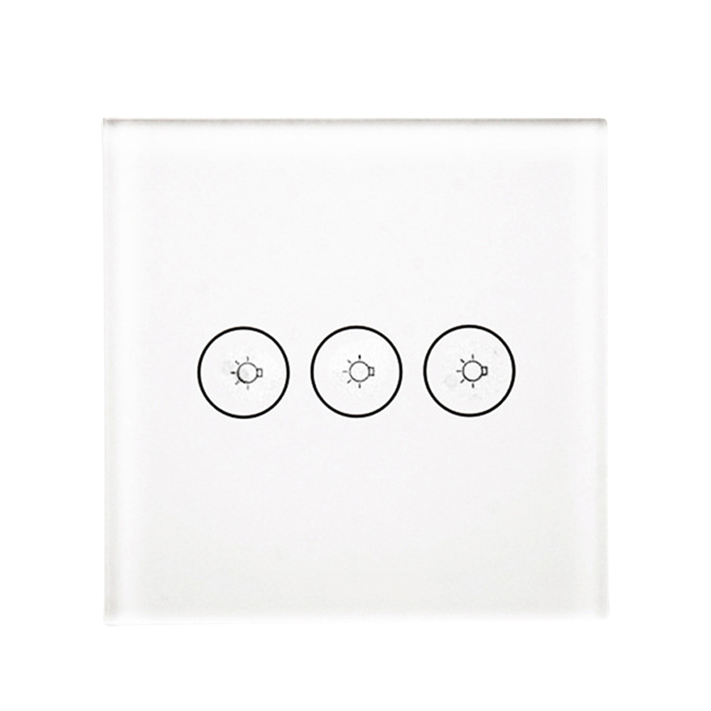 3 Ways Touch Control European Smart Switch