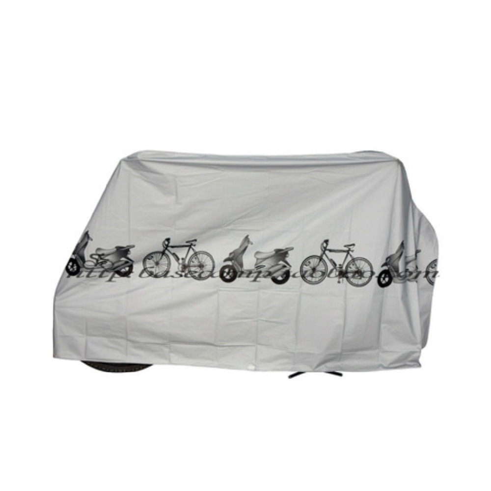 Bicycle Waterproof Cover Outdoor Portable Scooter Motorcycle Rain Dust Cover Cycling Accessories gray