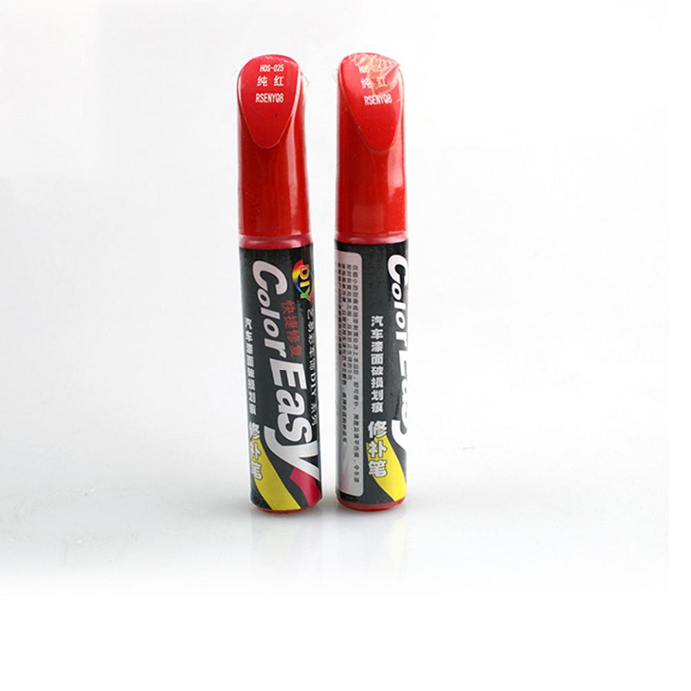 Paint Car Paint Repair Pen Touch-up Pen Scratch Repair Paint Scratch Repair Tool Multicolor Red_One pack