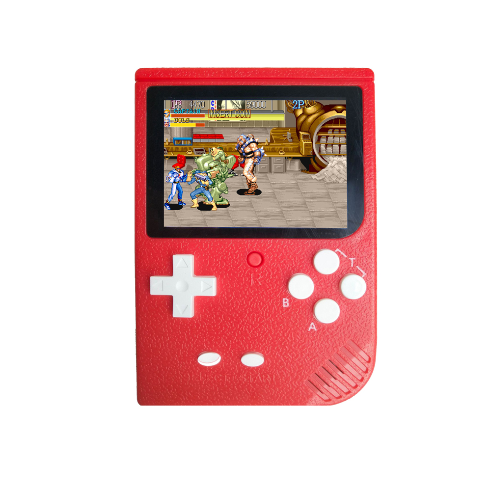 3.0 Inch Color Screen Retro Mini FC Nostalgic Game Console GBA Arcade Classic SUP2000 In 1 Game Handheld Device red