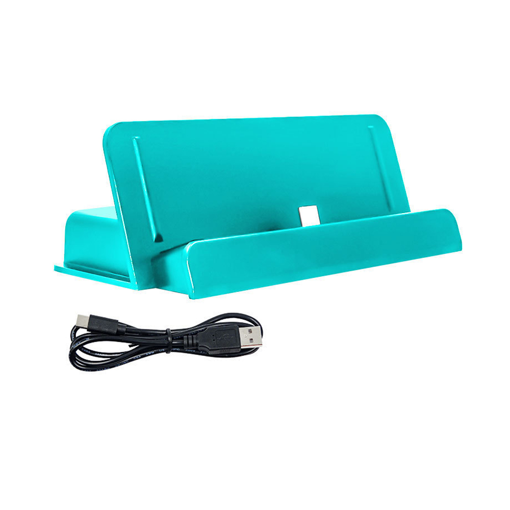 USB Type-C Charging Stand Charger For Nintendo Switch Lite Console Dock Holder blue