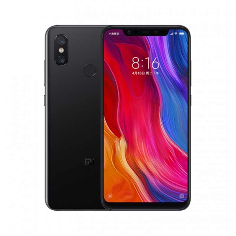 Xiaomi Mi 8 Android Phone 6+256GB Black