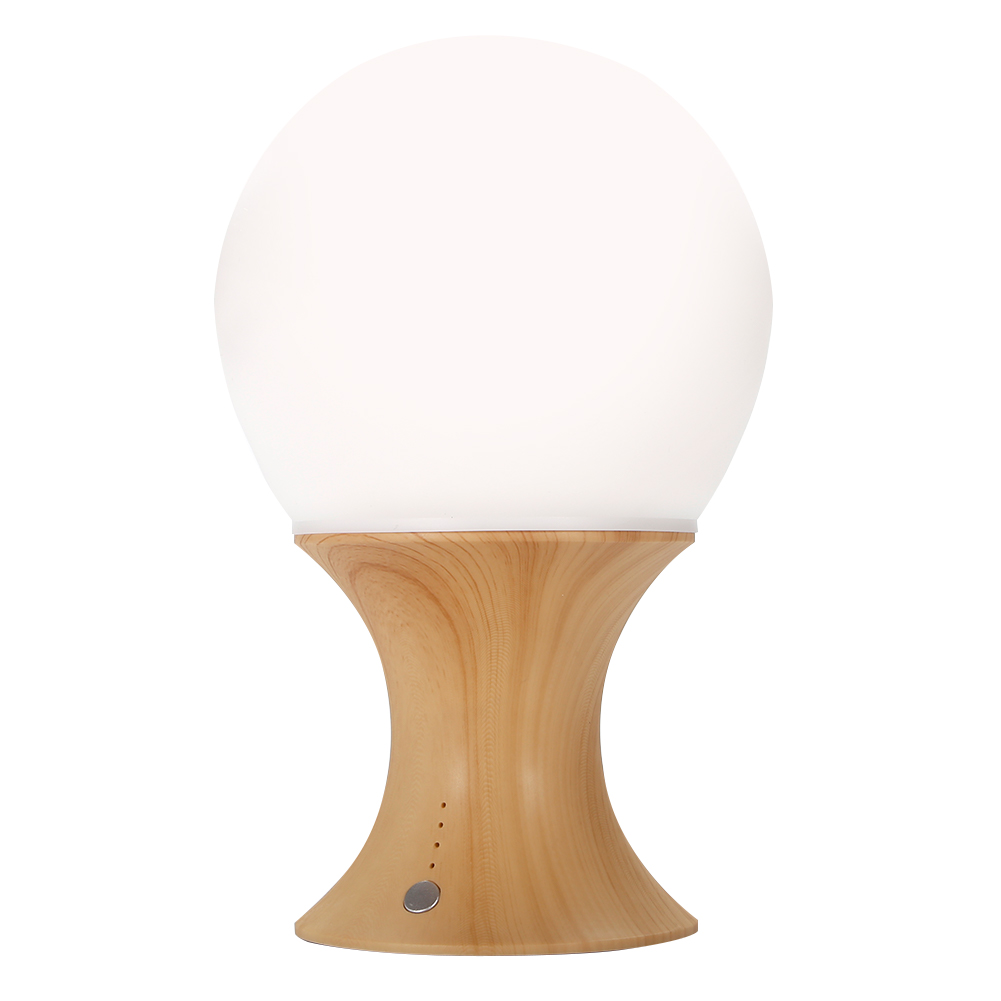 Colorful LED Timer Night Lamp Color Changing Silicone Mushroom Table Light